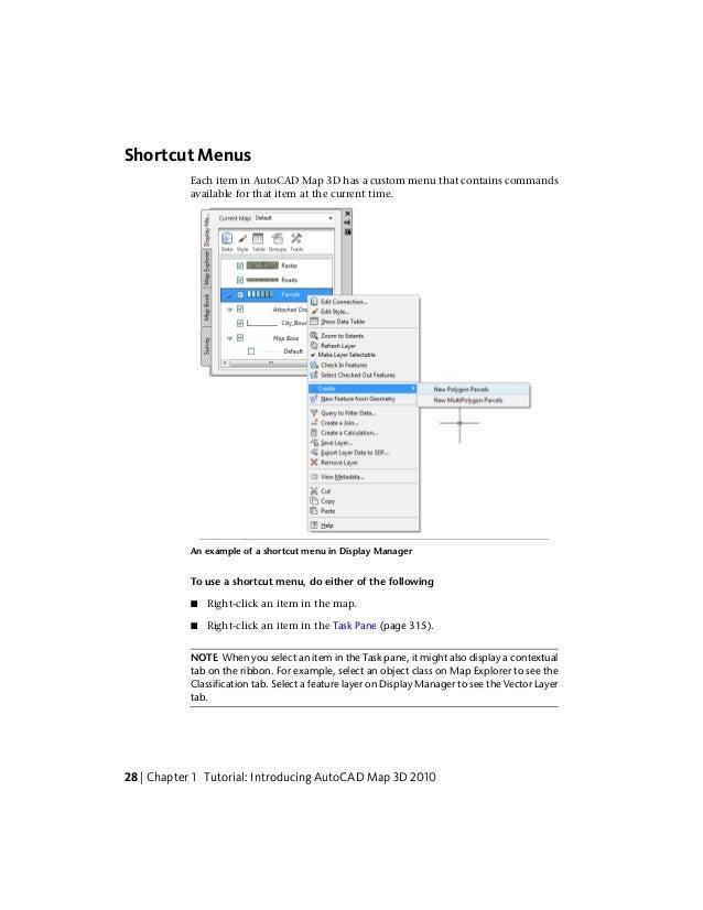 autocad map 3d tutorials rh slideshare net 2014 AutoCAD Instruction Manual 2014 AutoCAD Instruction Manual