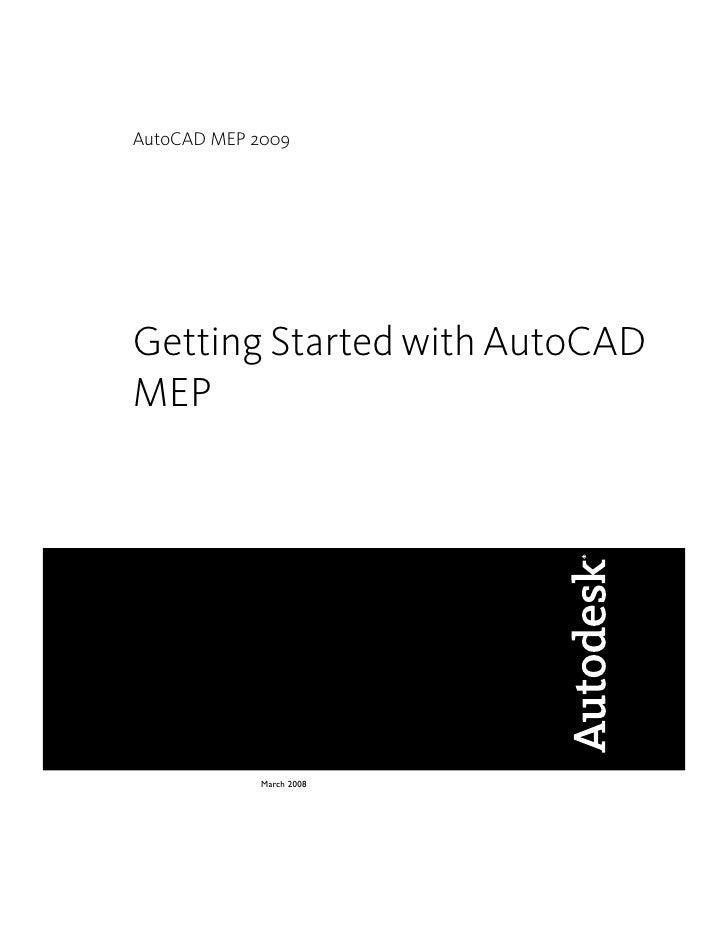 Autocad Mep Gettingstarted | Hvac Drawing Autocad Mep 2008 |  | SlideShare