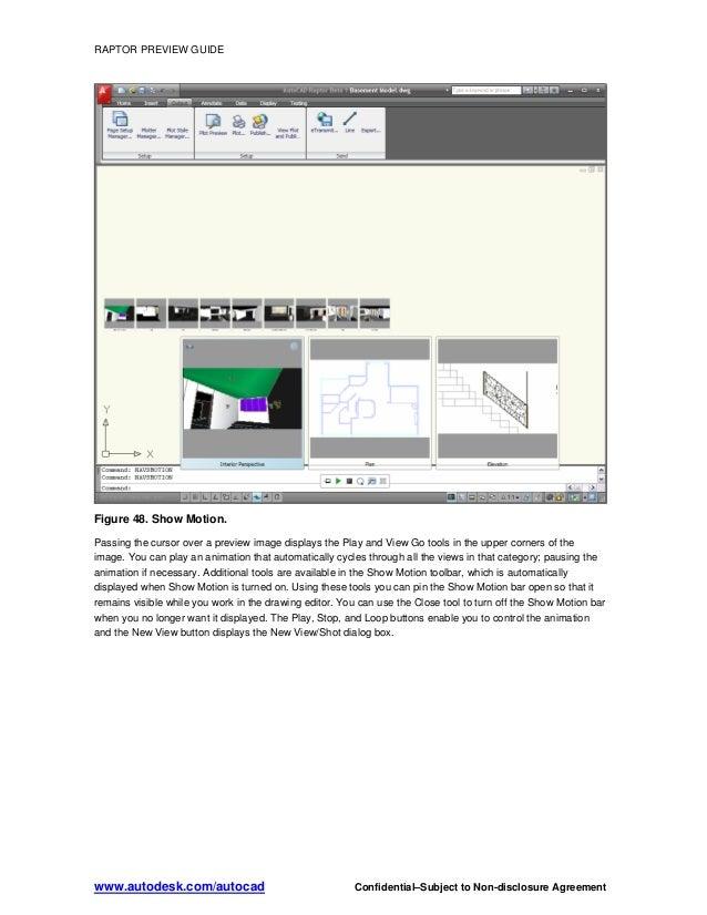 autocad raptor tutorial guide 2009 rh slideshare net AutoCAD LT 2009 AutoCAD 2007
