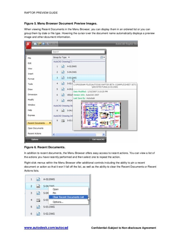 autocad raptor tutorial guide 2009 rh slideshare net AutoCAD Mechanical 2009 AutoCAD 2010