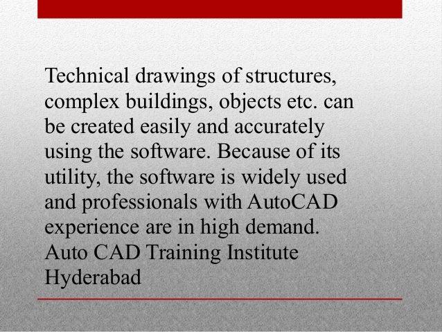 Auto Cad Training Institute Hyderabad