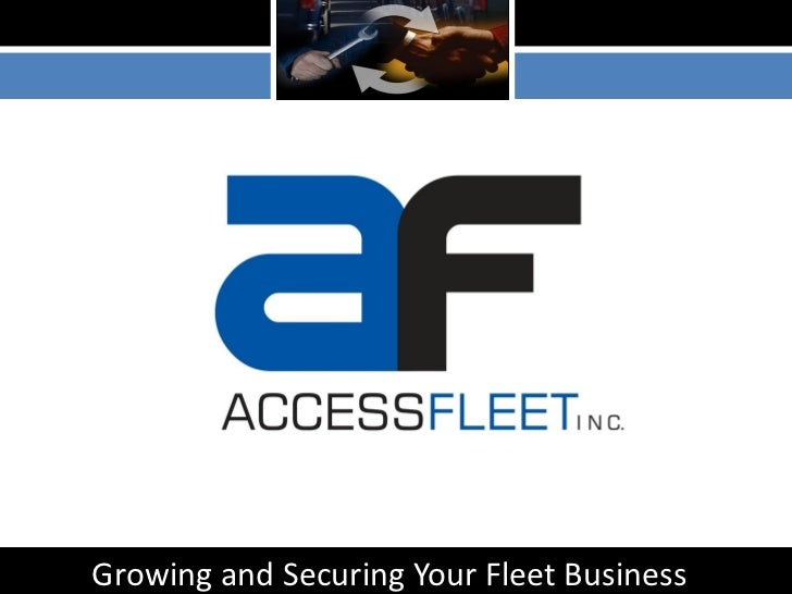 Growing and Securing Your Fleet Business