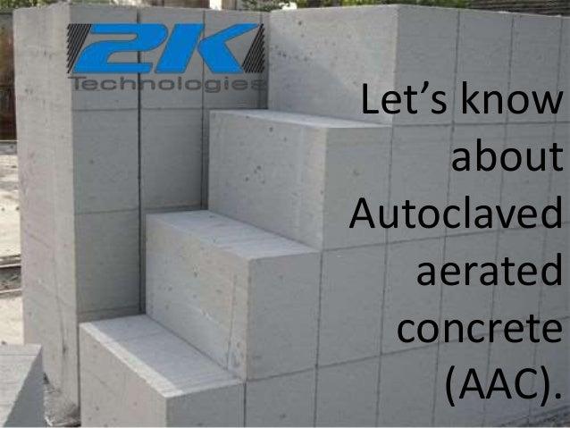 Autoclaved Aerated Concrete Block Machine Manufacturers 2k