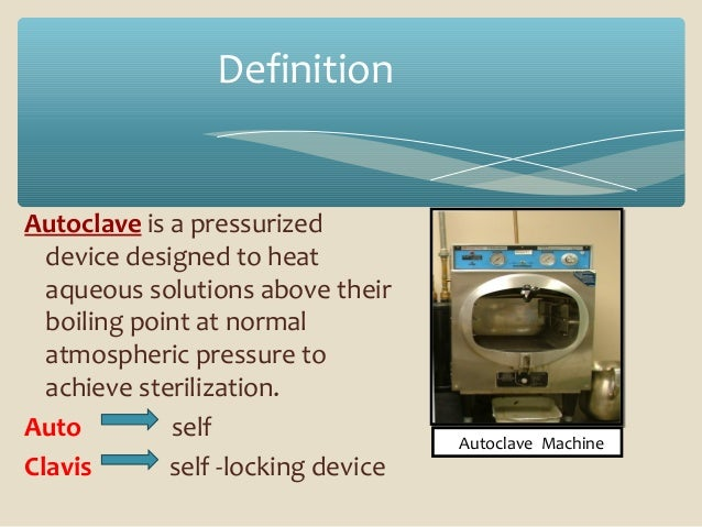autoclave the hit sterilisation. Black Bedroom Furniture Sets. Home Design Ideas