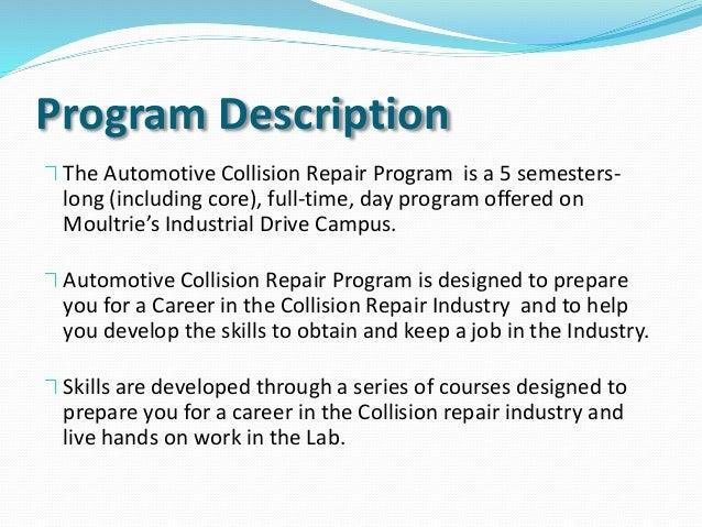 auto collision essays