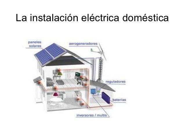 Autoconsumo y generacion distribuida - Instalacion electrica domestica ...
