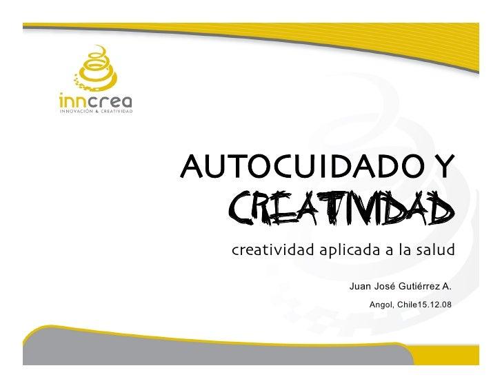 AUTOCUIDADO Y                                                  CREATIVIDAD                                                ...