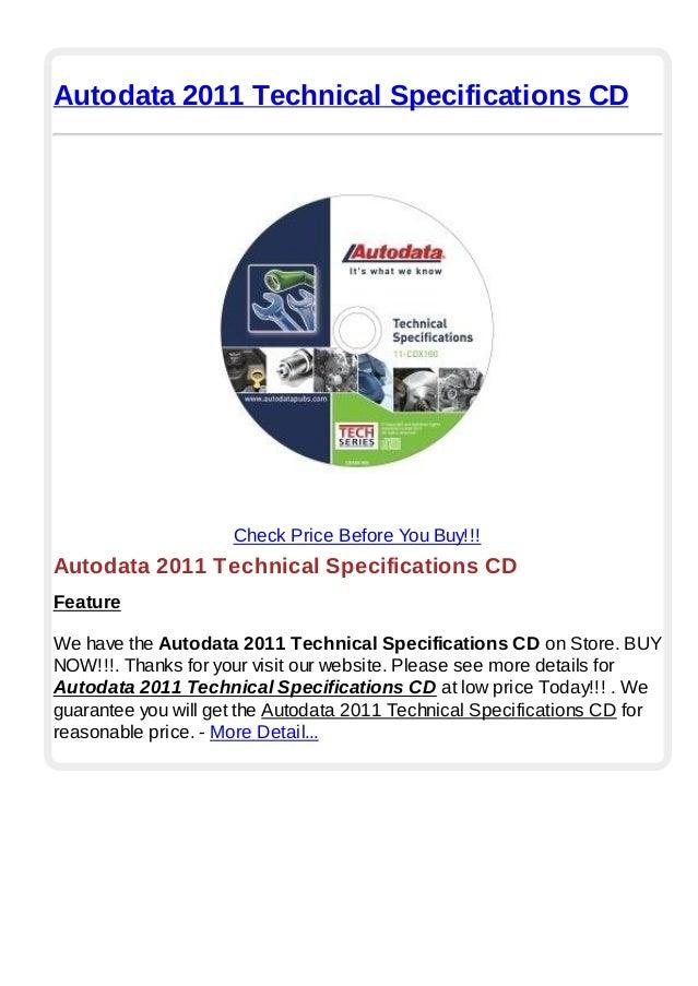 autodata 2011