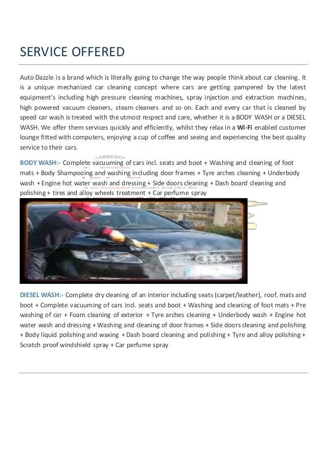 eco car wash business plan