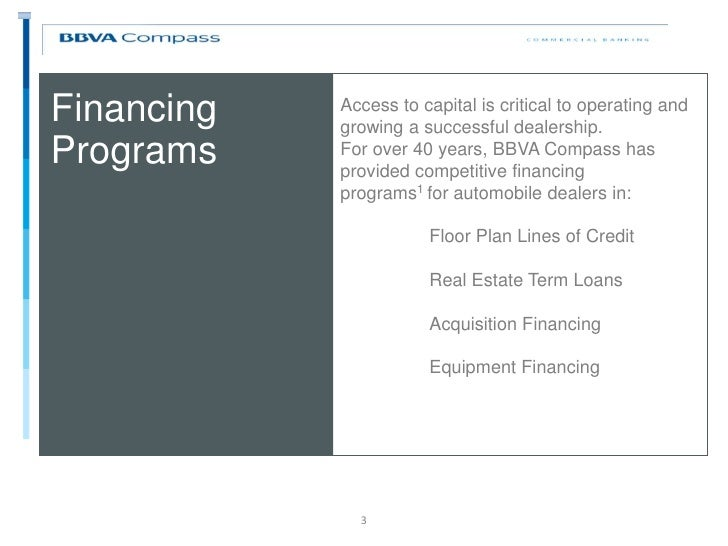 Wholesale Floor Plan Financing Part - 49: Financing ...