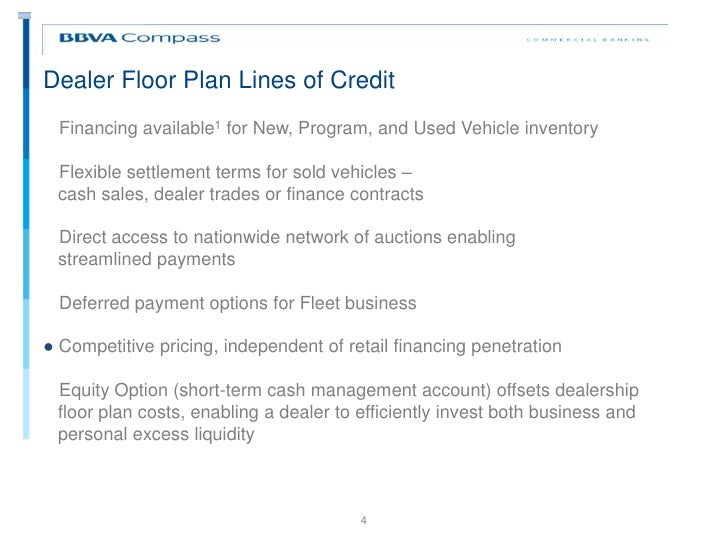 Exceptional Wholesale Floor Plan Financing Part - 3: Dealer Floor Plan ...