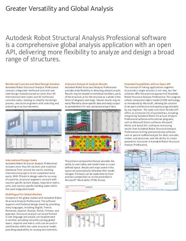 Autodesk robot-structural-analysis-professional-brochure-en