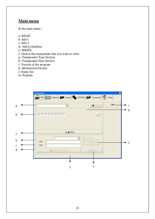 transpronics software