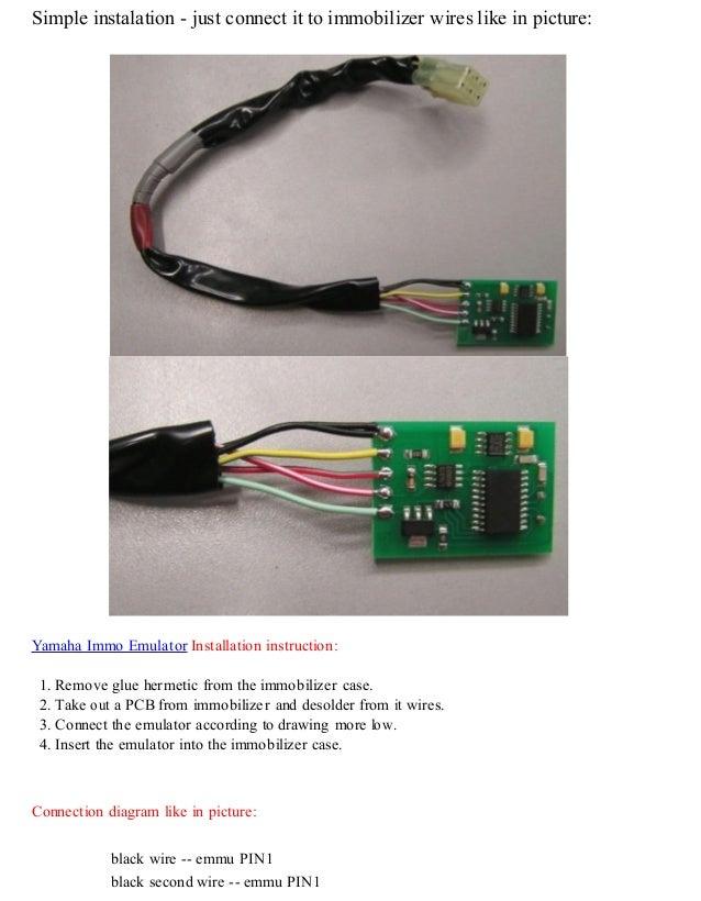 autodiagnosticobd yamaha immobilizer emulator user manual