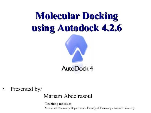 autodock 4.2.3