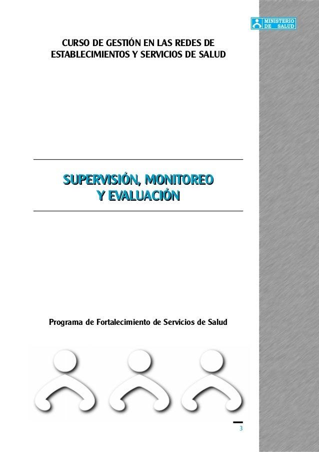 3 Programa de Fortalecimiento de Servicios de Salud CURSO DE GESTIÓN EN LAS REDES DE ESTABLECIMIENTOS Y SERVICIOS DE SALUD...