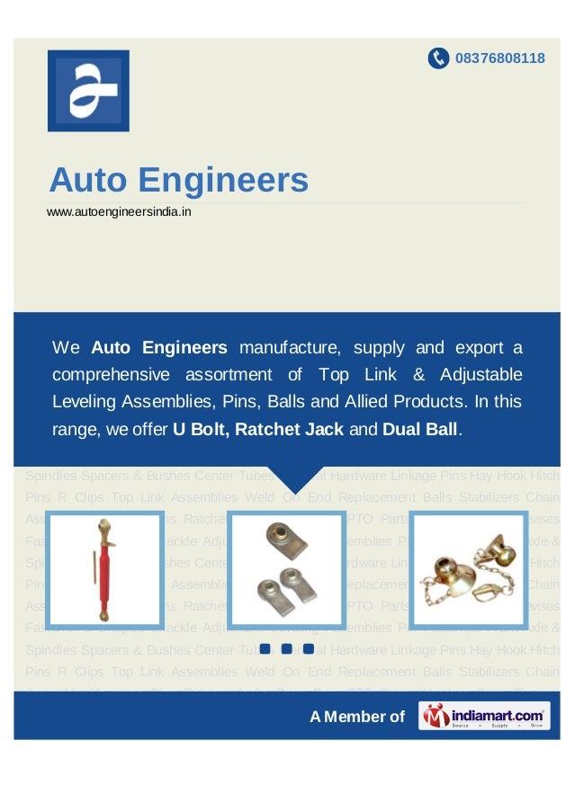 08376808118      Auto Engineers   www.autoengineersindia.inTop    Link   Assemblies   Weld   On   End   Replacement   Ball...
