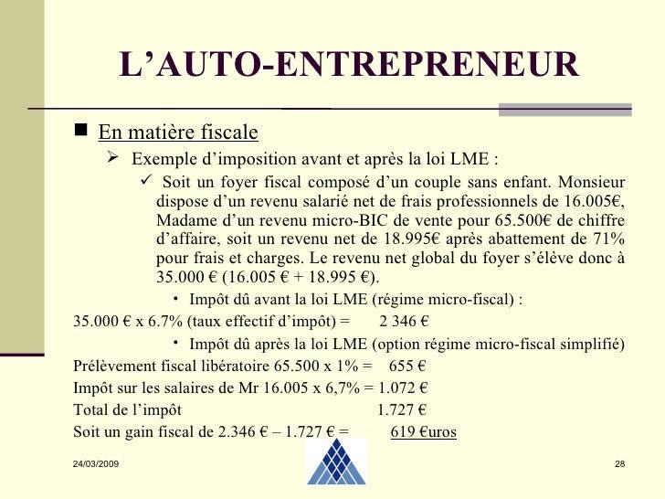chiffre d affaire auto entrepreneur