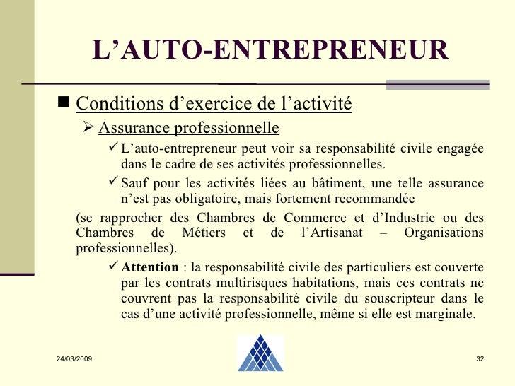 Autoentrepreneur 2 04 2009 - Chambre des metiers toulouse auto entrepreneur ...