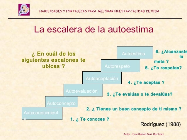 Autoestima for Que es una escalera