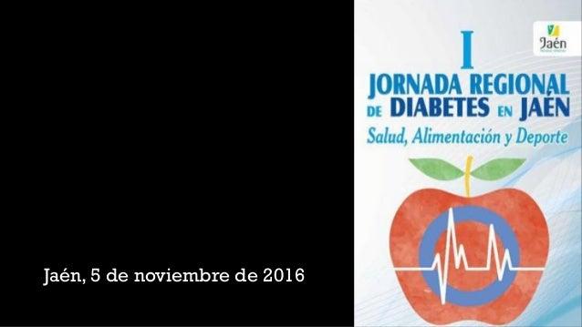 Jaén, 5 de noviembre de 2016