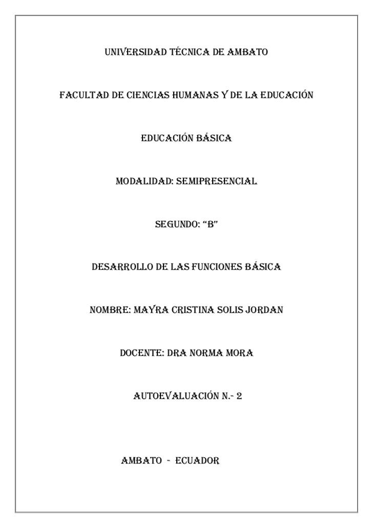 Universidad técnica de ambato<br />Facultad de ciencias humanas y de la educación<br />Educación básica<br />Modalidad: se...