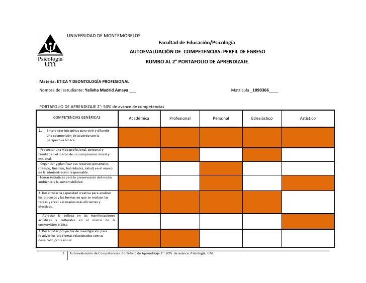 UNIVERSIDAD DE MONTEMORELOS                                                                             Facultad de Educac...