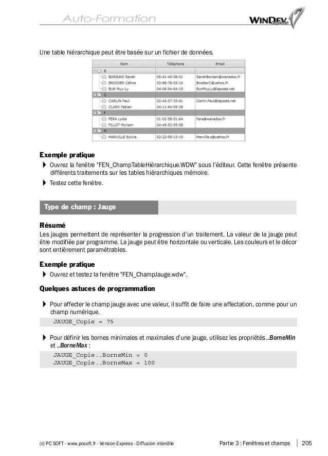 Autoformation windev-express-17