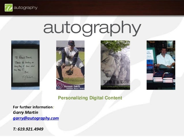 Autography presentation indie bookstore project 15 fandeluxe Image collections