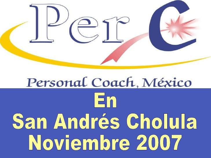 En  San Andrés Cholula Noviembre 2007