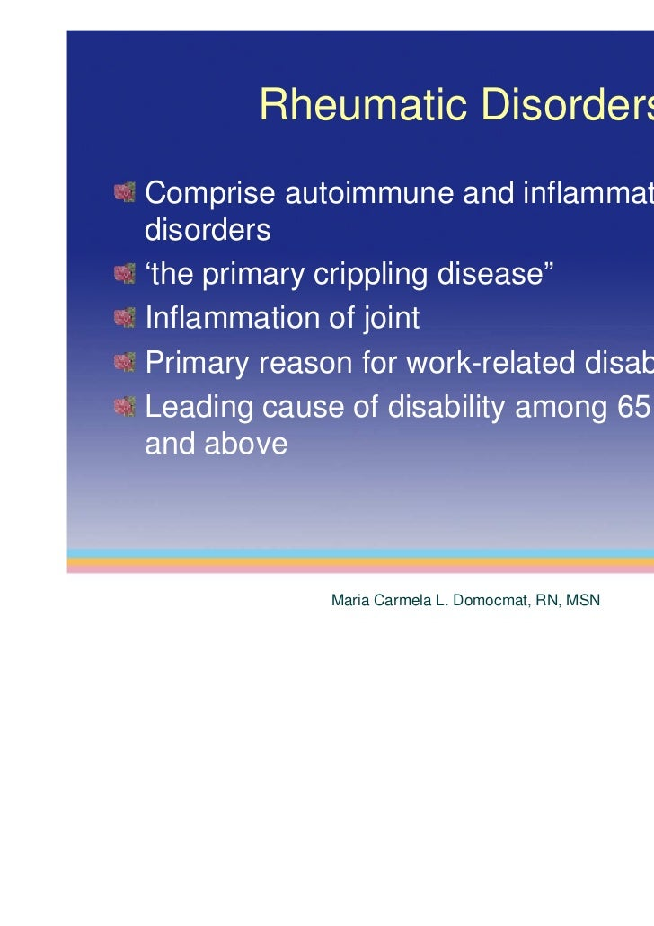 an analysis of the autoimmune disorder rheumatoid arthritis Rheumatoid arthritis is an autoimmune disease that attacks the joints like other types of arthritis, there is lameness, but rheumatoid arthritis.