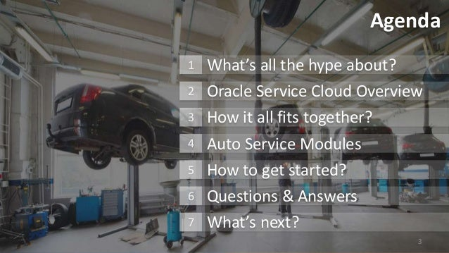 Oracle Service Cloud for Automotive Service and Repair Industry Slide 3