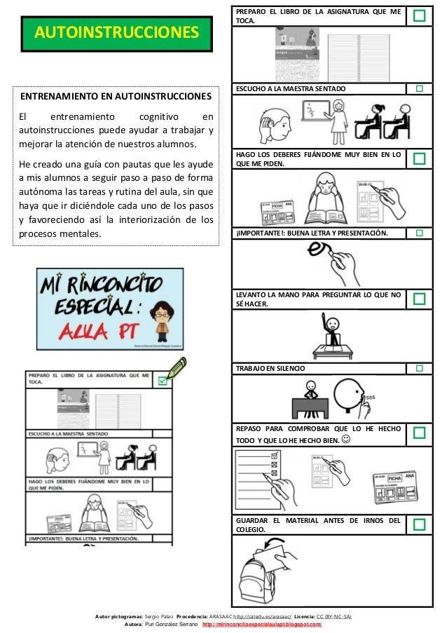 Autor pictogramas: Sergio Palao Procedencia: ARASAAC http://catedu.es/arasaac/ Licencia: CC (BY-NC-SA) Autora: Puri Gonzál...