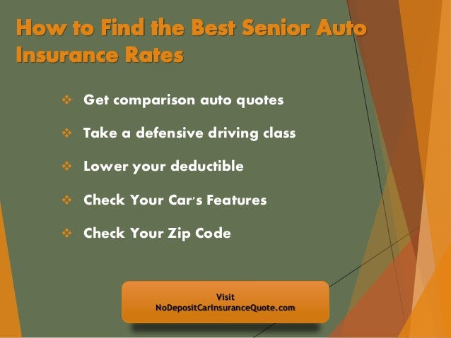 Citizens Insurance Quote Best Auto Insurance Discounts For Senior Citizens