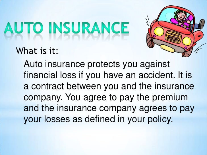 Define Motor Vehicle Insurance - impremedia.net