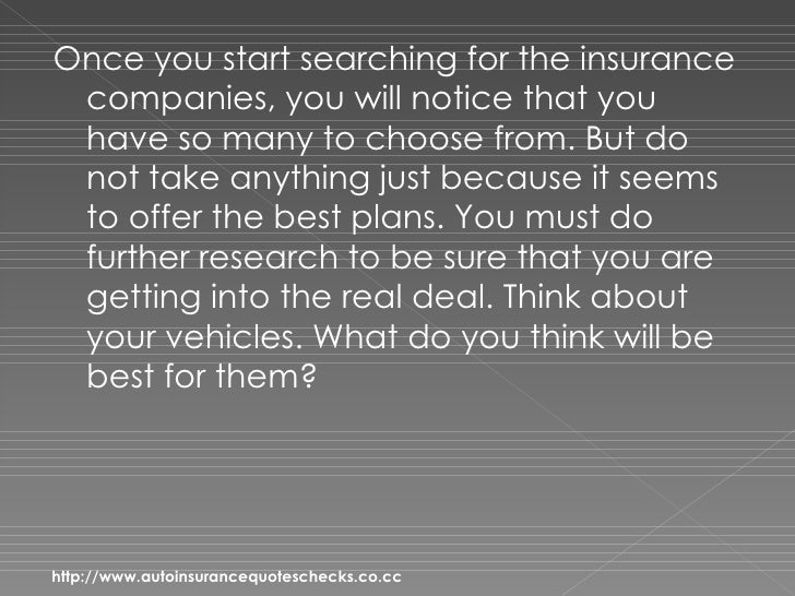 Auto Insurance Quotes – Discover 4 Secrets To Getting The Best Auto Insurance Slide 3