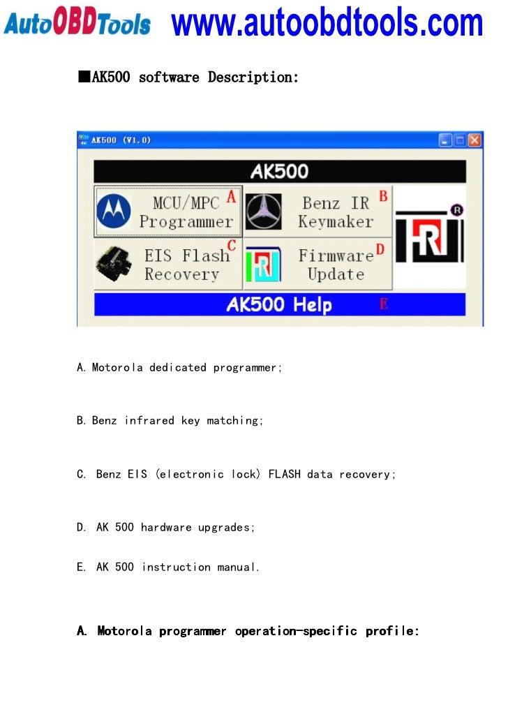 tm100 key programmer user manual