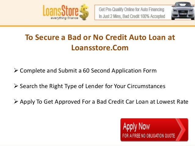no credit check loans for bad credit