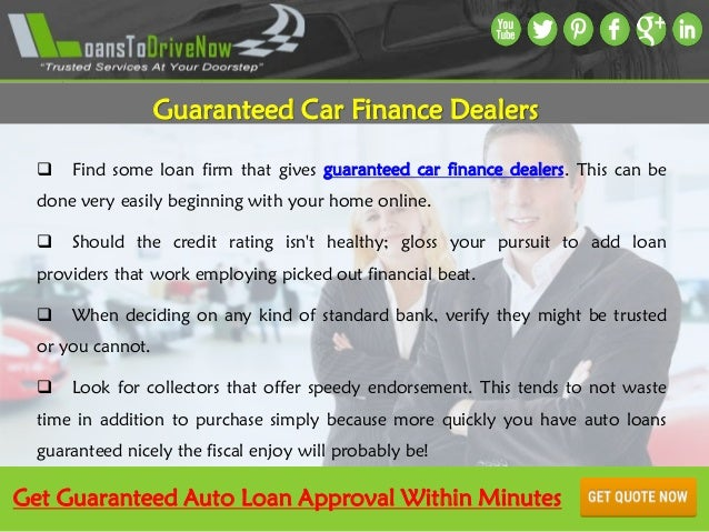 How To Get Guaranteed Approval Car Loans