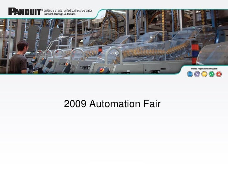 Click to add text                                                    2009 Automation Fair                                 ...
