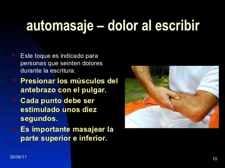 El dolor en la espalda por la osteocondrosis