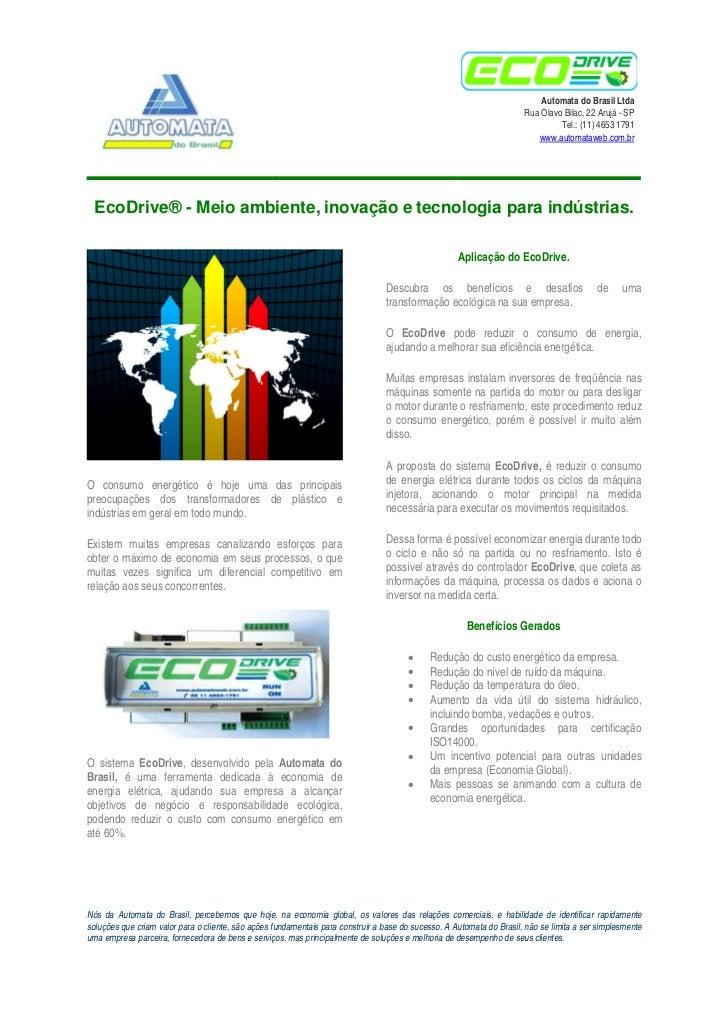 Automata do Brasil Ltda                                                                                                   ...
