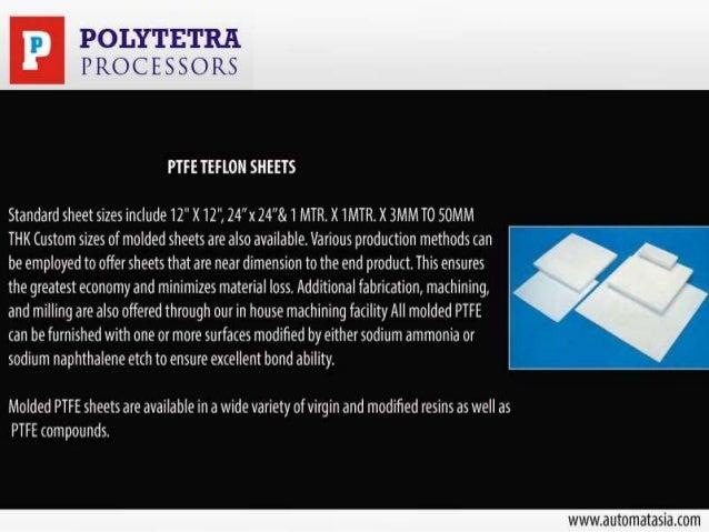 PTFE Components & Parts Slide 3