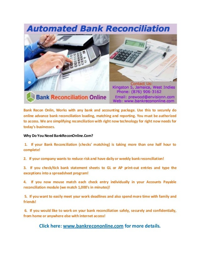 automated bank reconciliation