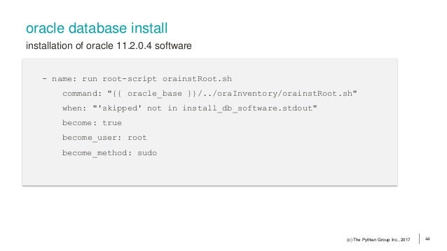 Automate DBA Tasks With Ansible