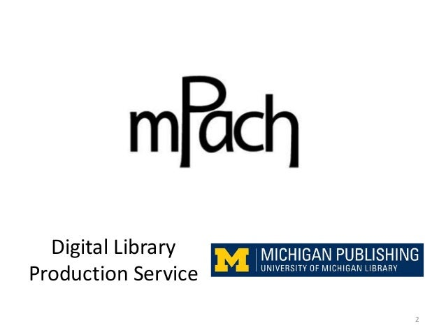 Digital Library Production Service 2