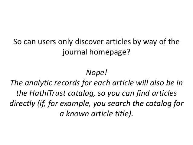 Questions? http://www.lib.umich.edu/mpach