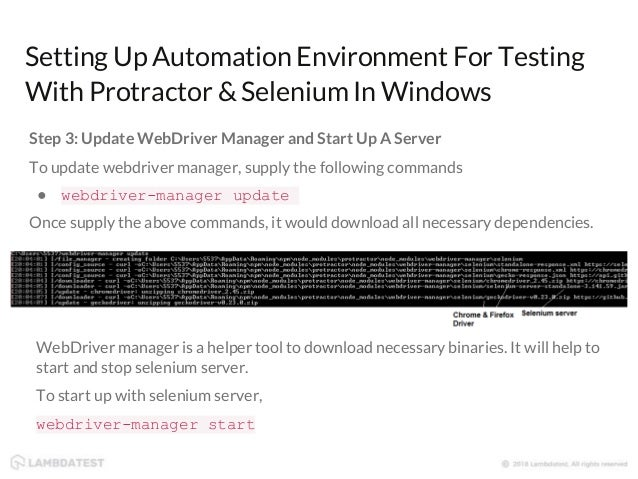 Automated Cross Browser Testing With Protractor & Selenium