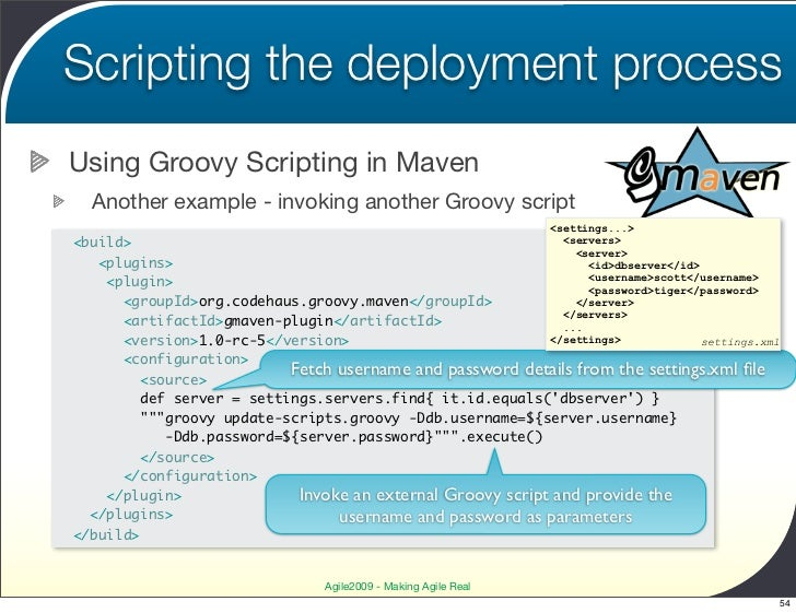 Automated Deployment with Maven - going the whole nine yards