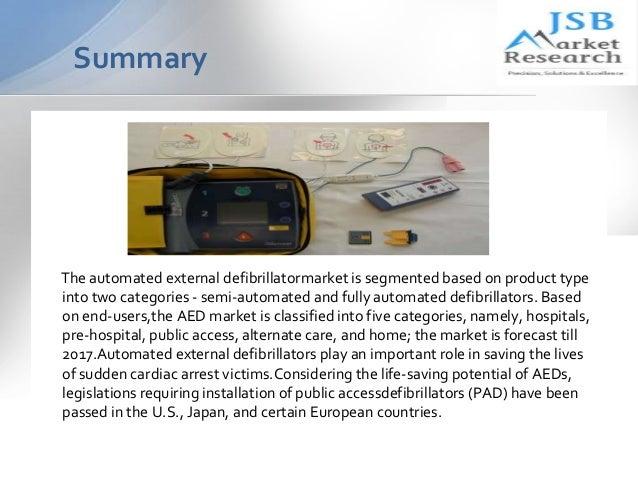 jsb market research automated external defibrillator A description of automated external defibrillator jsb market research: automated external defibrillator market automated external defibrillator market.